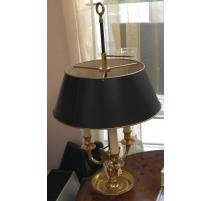 Lampe bouillotte en bronze style