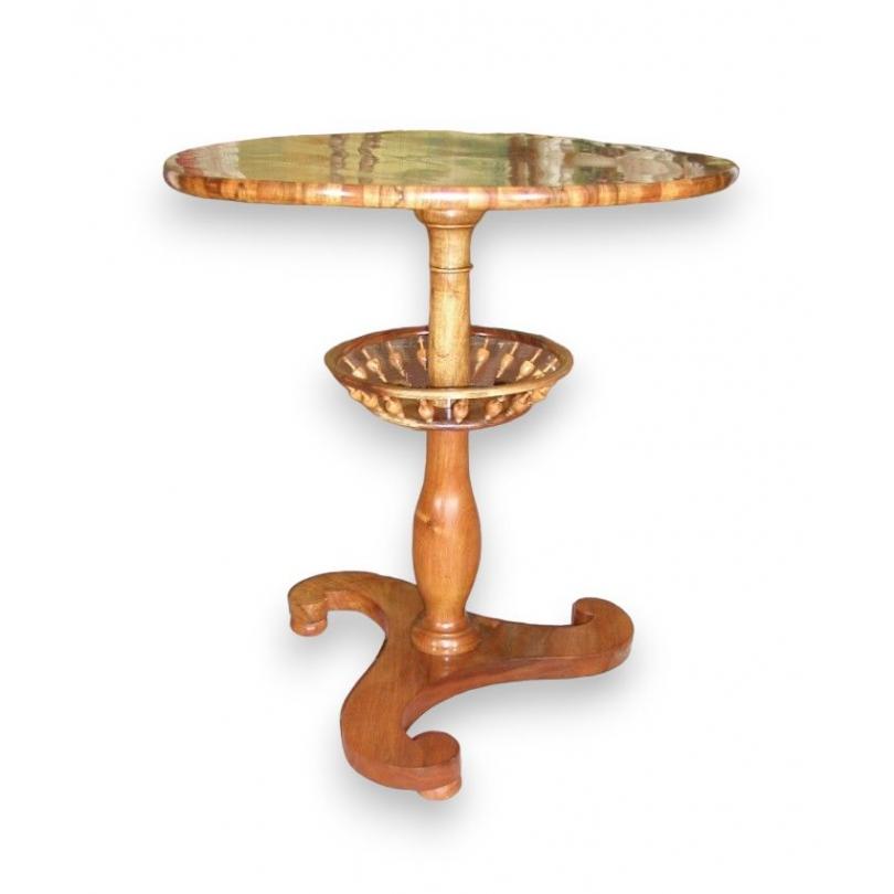 gu ridon rond louis philippe sur moinat sa antiquit s d coration. Black Bedroom Furniture Sets. Home Design Ideas