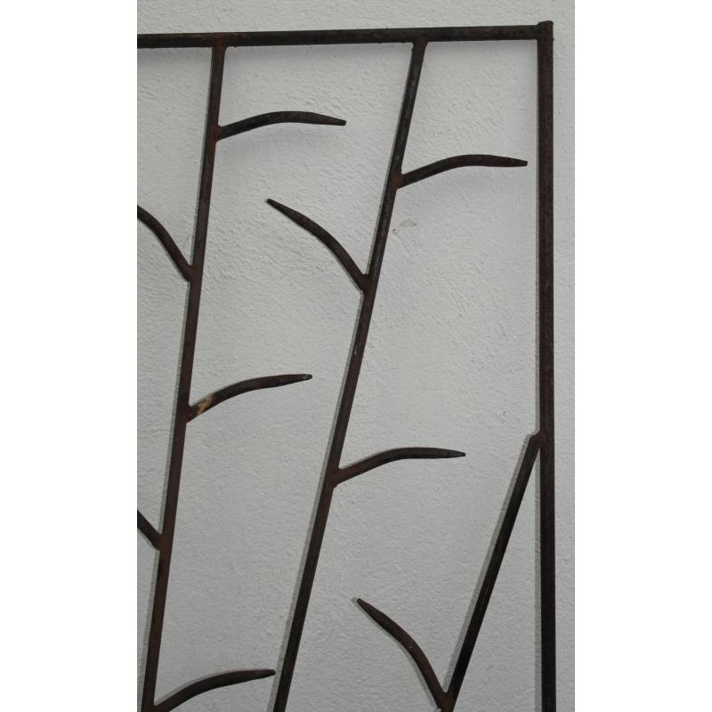 paravent ou grille en fer forg sur moinat sa antiquit s d coration. Black Bedroom Furniture Sets. Home Design Ideas