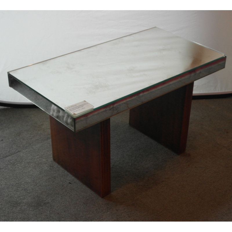table basse art d co dessus verre de sur moinat sa antiquit s d coration. Black Bedroom Furniture Sets. Home Design Ideas