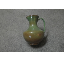Vase chinois décor coq, poule et poussins
