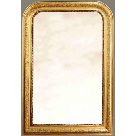 miroir style louis philippe en bois sur moinat sa. Black Bedroom Furniture Sets. Home Design Ideas