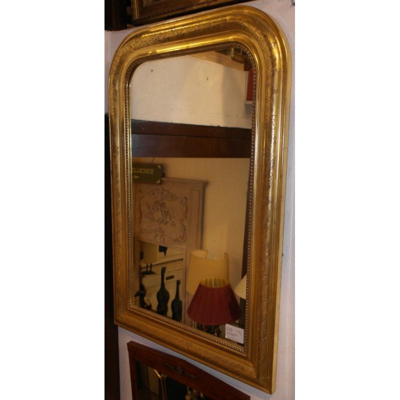 Miroir style louis philippe en bois sur moinat sa for Miroir style