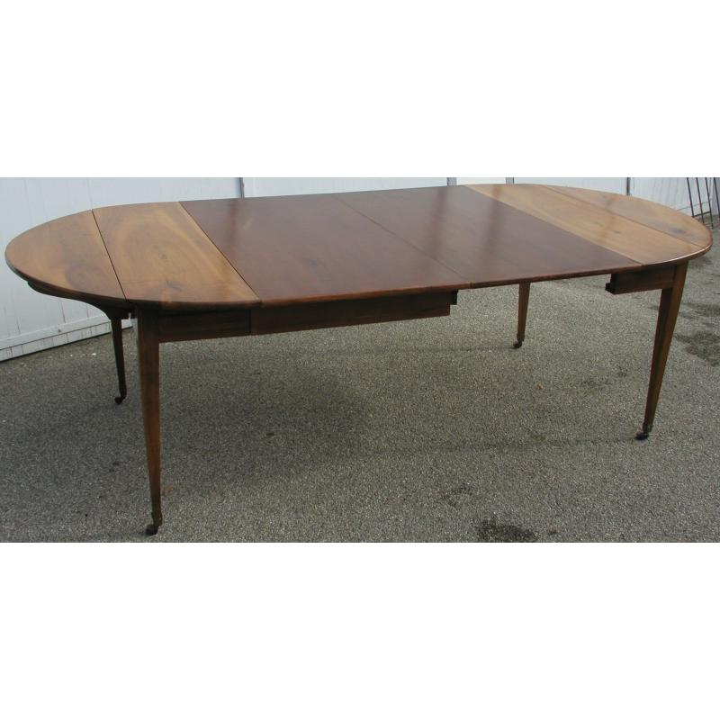 table directoire sur roulettes sur moinat sa antiquit s d coration. Black Bedroom Furniture Sets. Home Design Ideas