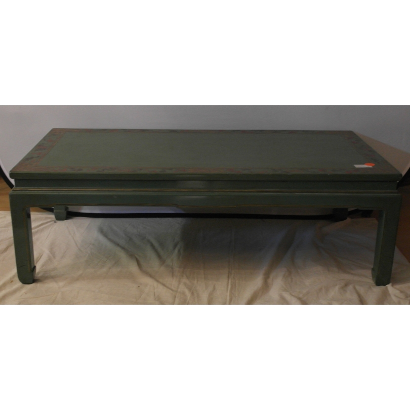table basse en laque verte sur moinat sa antiquit s d coration. Black Bedroom Furniture Sets. Home Design Ideas