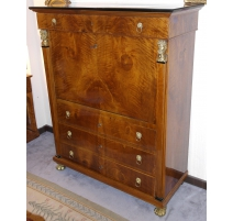 Secretary Empire with 4 drawers and 1 flap.