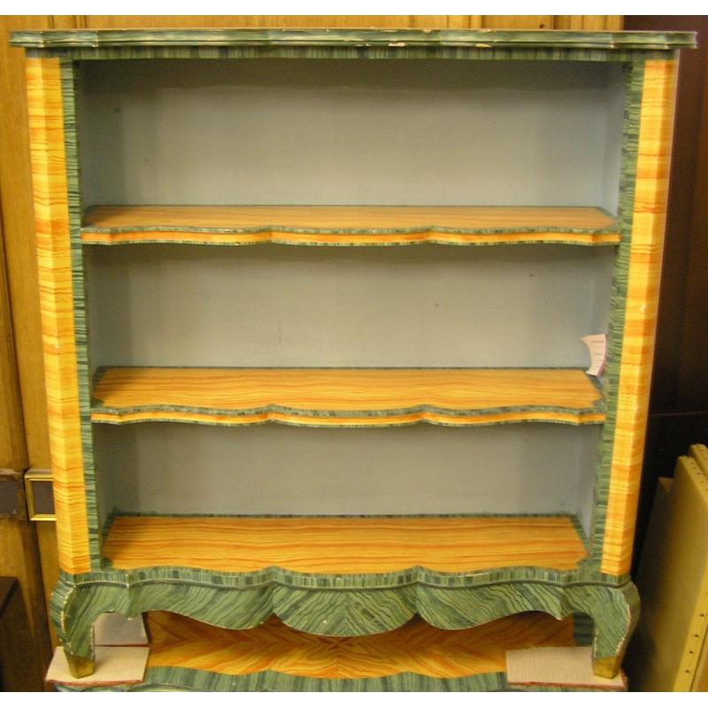 biblioth que peinte de la maison jansen sur moinat sa. Black Bedroom Furniture Sets. Home Design Ideas