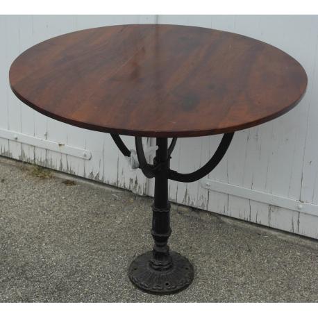 table de bistrot ronde sur moinat sa antiquit s d coration. Black Bedroom Furniture Sets. Home Design Ideas