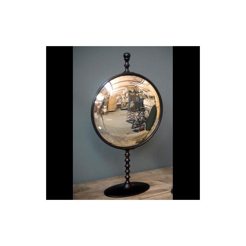miroir convexe sur pied sur moinat sa antiquit s d coration. Black Bedroom Furniture Sets. Home Design Ideas
