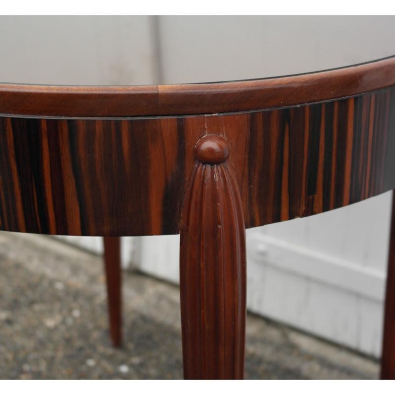 gu ridon art d co mod le ruhlmann en sur moinat sa antiquit s d coration. Black Bedroom Furniture Sets. Home Design Ideas