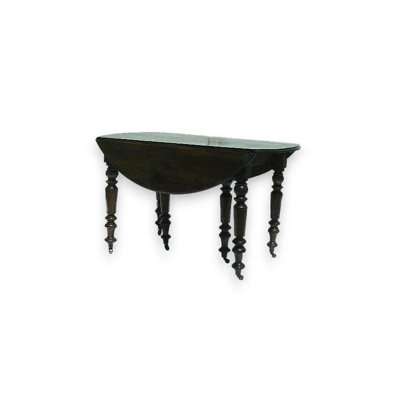 Tisch, Louis-Philippe, der mit klappen und verlängerungskabel.
