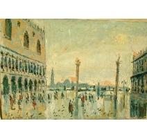 """Tableau """"Vue de Venise"""""""
