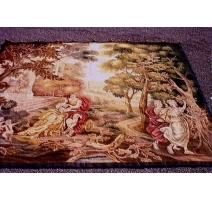 Tapestry of Aubusson Scene galante .