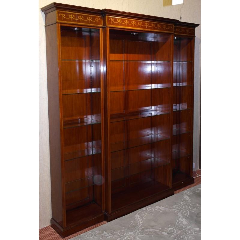 biblioth que ouverte mod le breakfront sur moinat sa antiquit s d coration. Black Bedroom Furniture Sets. Home Design Ideas