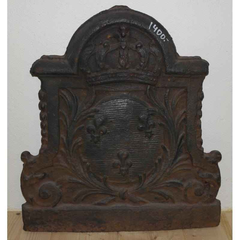 plaque de chemin e en fonte sur moinat sa antiquit s. Black Bedroom Furniture Sets. Home Design Ideas