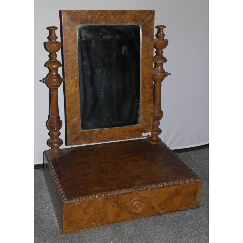 miroir de coiffeuse sur moinat sa antiquit s d coration. Black Bedroom Furniture Sets. Home Design Ideas