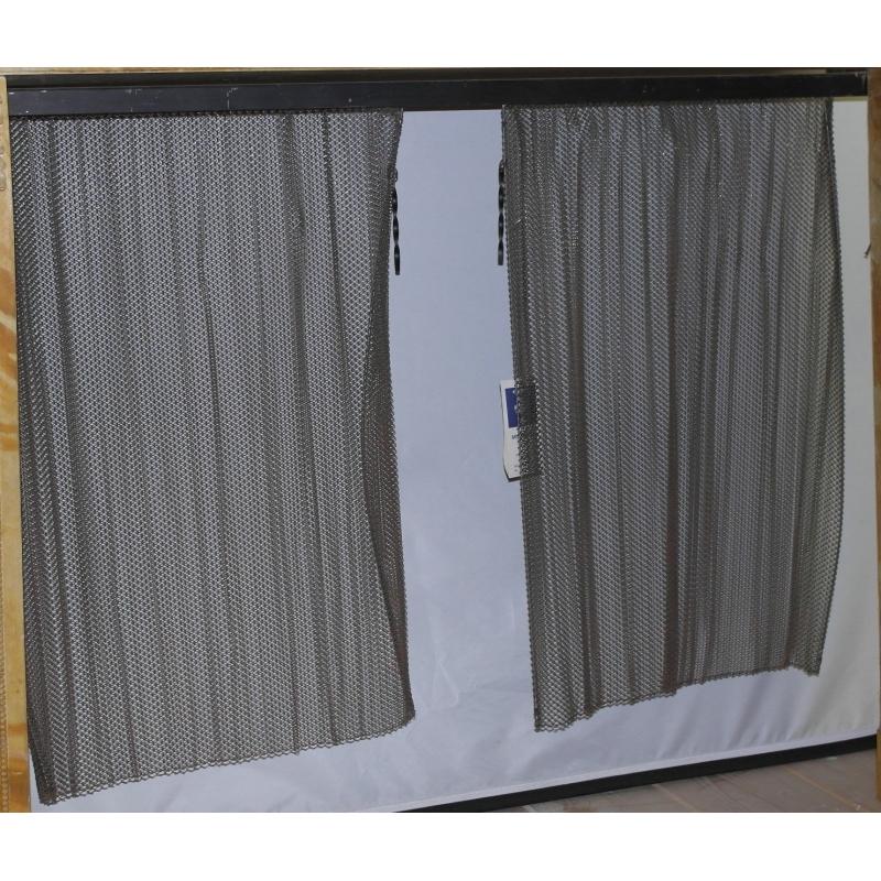rideau pour chemin e en cotte de maille moinat sa antiquit s d coration. Black Bedroom Furniture Sets. Home Design Ideas