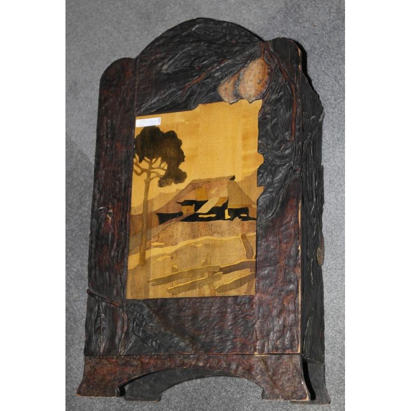 Petite armoire Art Nouveau avec porte