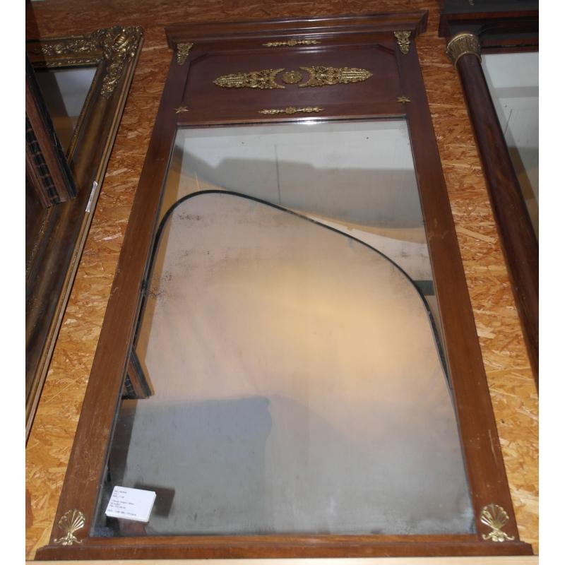 Miroir empire en acajou sur moinat sa antiquit s d coration for Miroir acajou