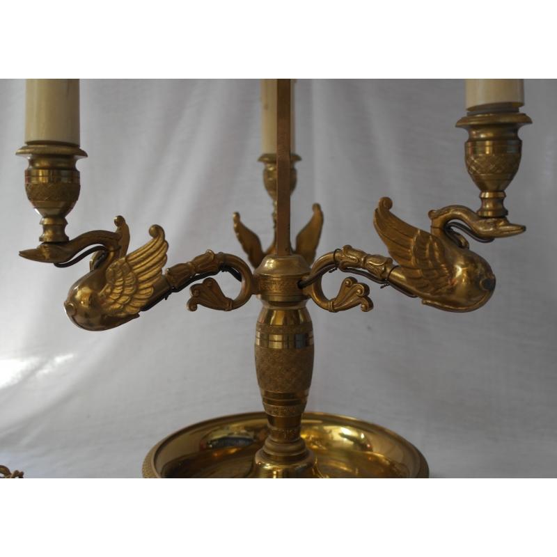 lampe bouillotte col de cygne en sur moinat sa antiquit s d coration. Black Bedroom Furniture Sets. Home Design Ideas