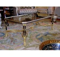 Table basse style Louis XVI modèle Torsade
