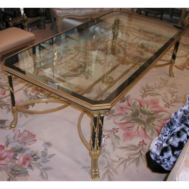 table basse style louis xvi mod le sur moinat sa antiquit s d coration. Black Bedroom Furniture Sets. Home Design Ideas