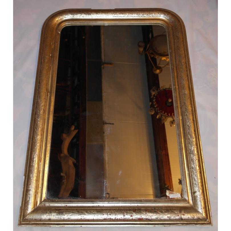 Miroir style louis philippe argent sur moinat sa for Miroir style louis philippe