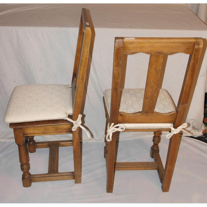 paire de chaises style louis xiii en sur moinat sa antiquit s d coration. Black Bedroom Furniture Sets. Home Design Ideas