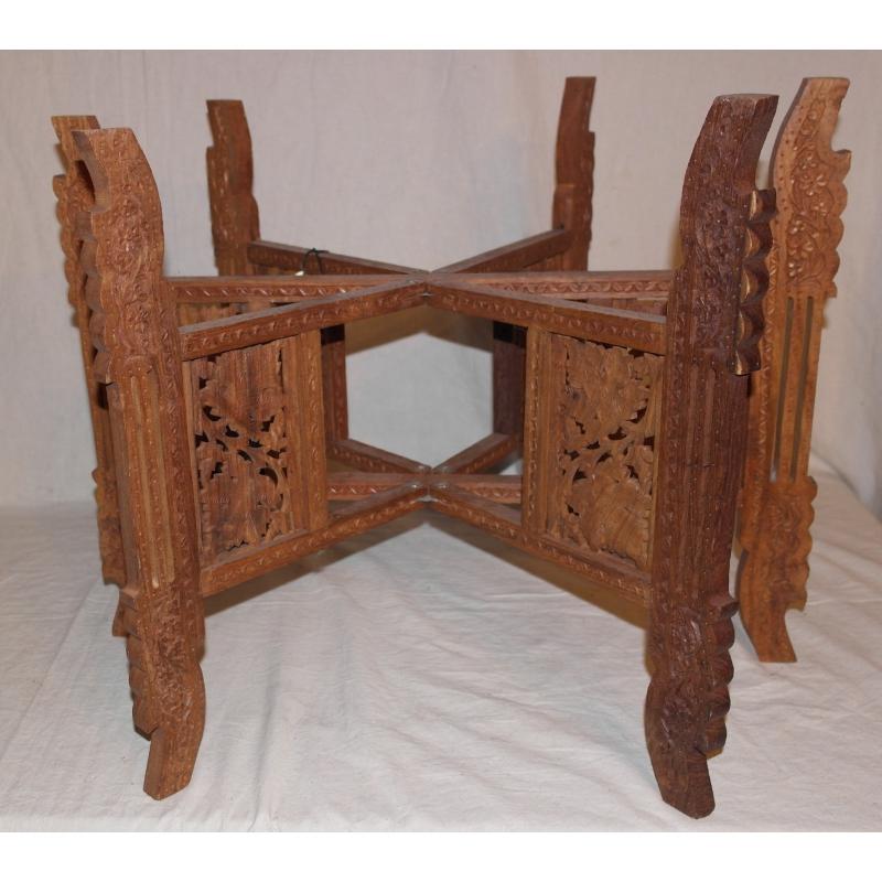 table orientale avec plateau en cuivre sur moinat sa. Black Bedroom Furniture Sets. Home Design Ideas