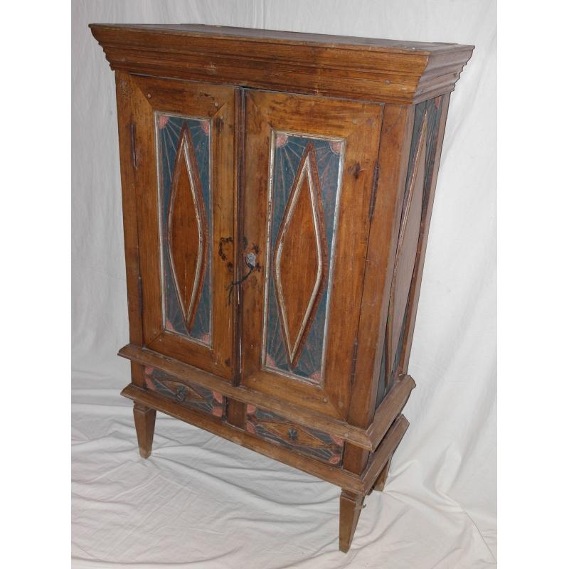 meuble indien peint sur moinat sa antiquit s d coration