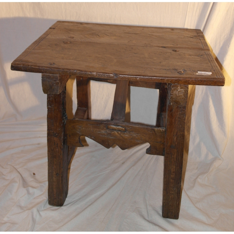 Table basse rustique sur moinat sa antiquit s d coration - Table rustique ...