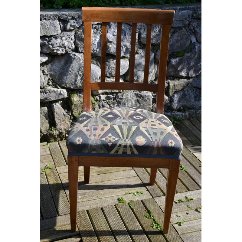 Chaise barreaux directoire sur moinat sa antiquit s for Chaise a barreaux
