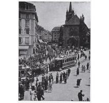 """Plaque de gravure """"Saint-François à"""