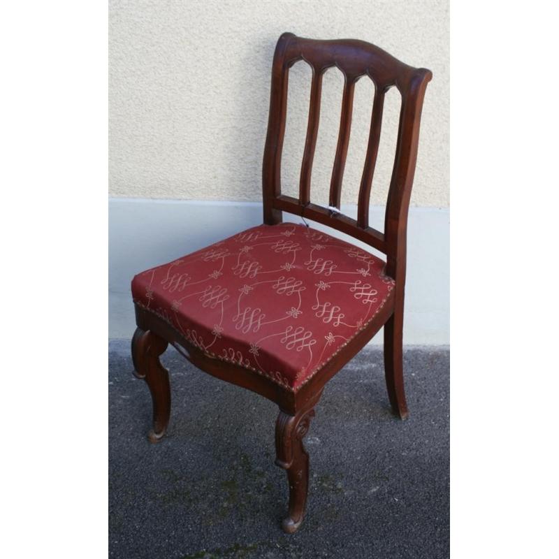 Chaise louis philippe en acajou sur moinat sa antiquit s for Chaise 19eme siecle