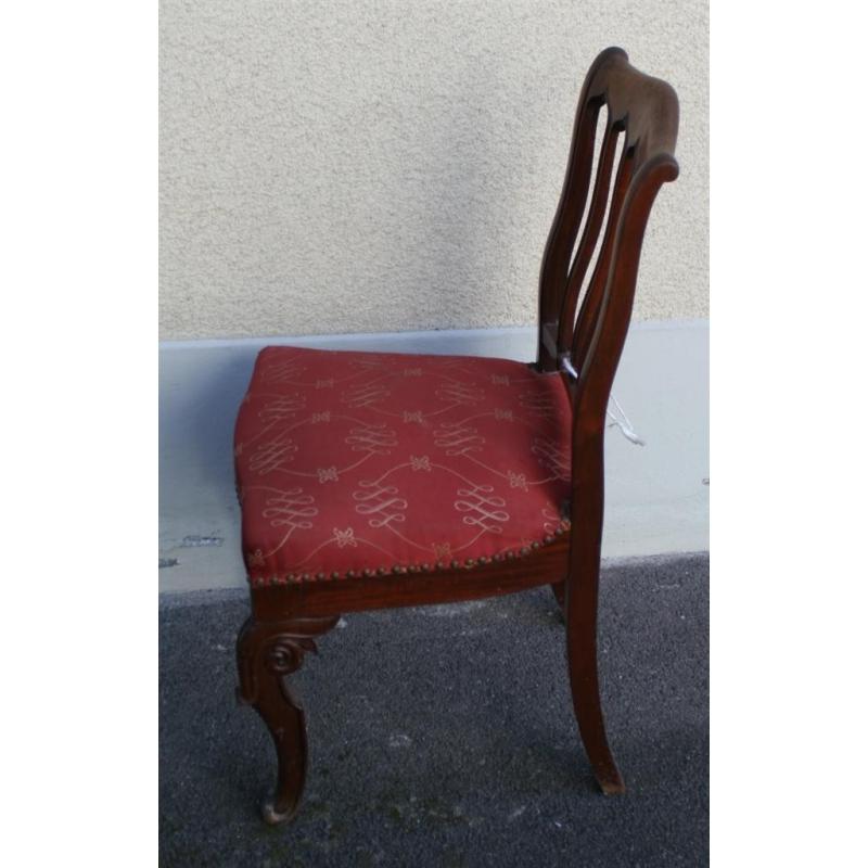 chaise louis philippe en acajou sur moinat sa antiquit s. Black Bedroom Furniture Sets. Home Design Ideas