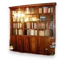 Bibliothèque Empire avec 9 portes.