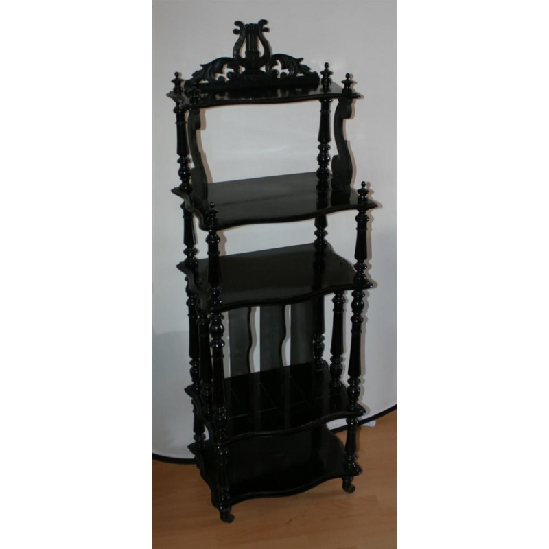 meuble musique noir napol on iii sur moinat sa. Black Bedroom Furniture Sets. Home Design Ideas