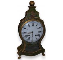 Clock neuchâteloise, signed GRANDNOM.