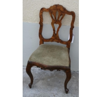 Chaise en noyer Italie