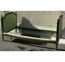 Bed Louis XVI upholstered to