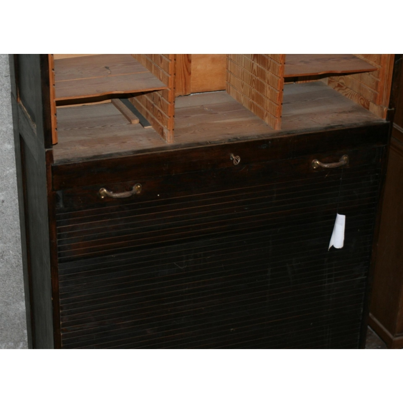 Storage cabinet roller pin moinat sa antiquit s d coration - Meuble roller ...