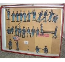 Coffret contenant 25 soldats de plomb