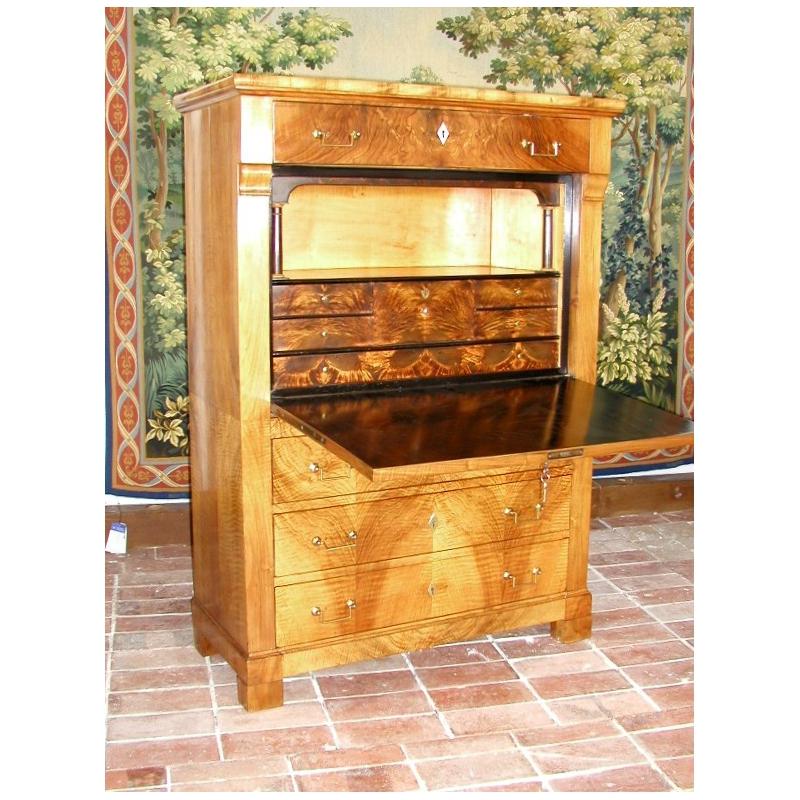 secr taire louis philippe sur moinat sa antiquit s. Black Bedroom Furniture Sets. Home Design Ideas