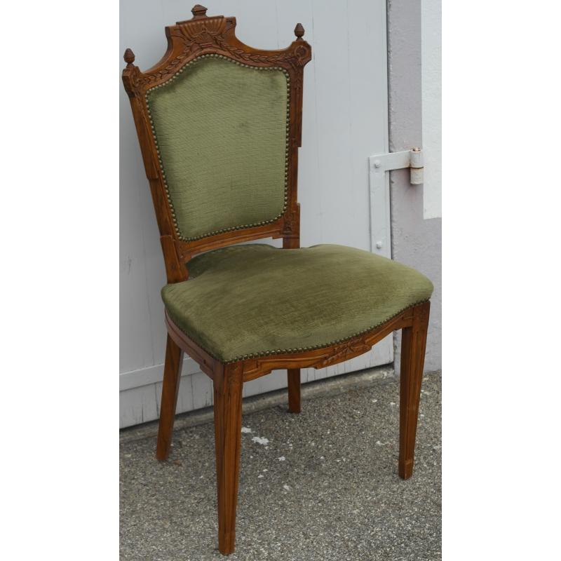 Conjunto de 6 sillas de estilo luis xvi moinat sa - Sillas estilo luis xvi ...