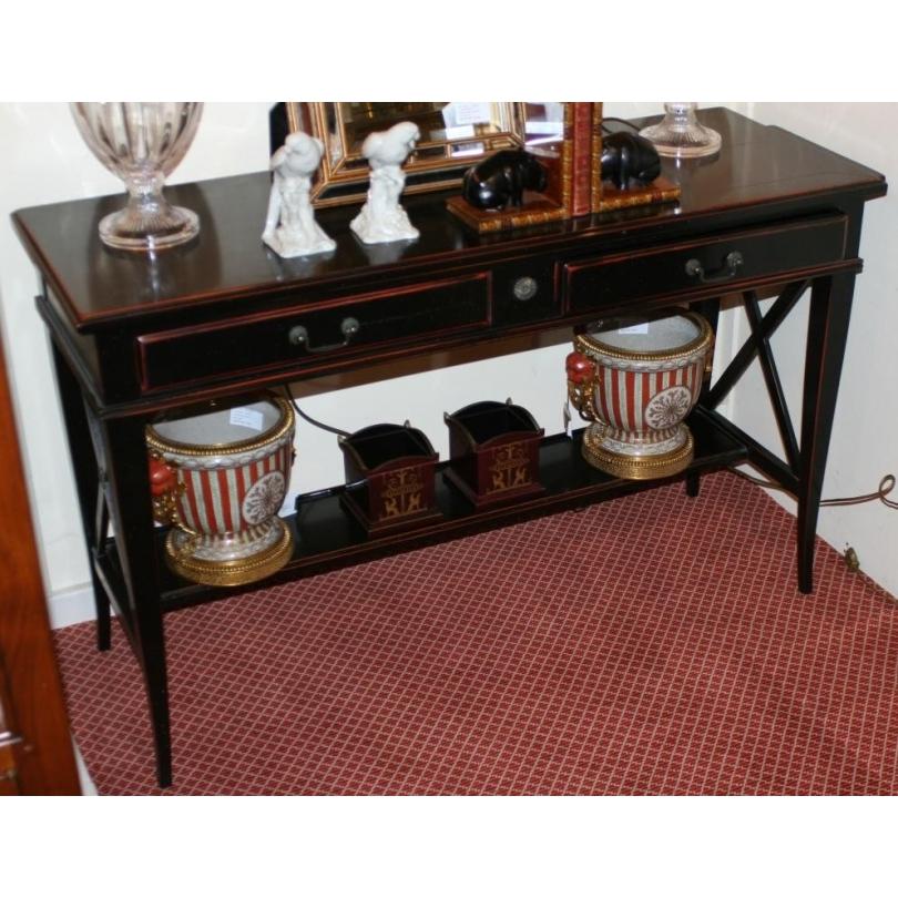 console dos de canap style directoire sur moinat sa antiquit s d coration. Black Bedroom Furniture Sets. Home Design Ideas