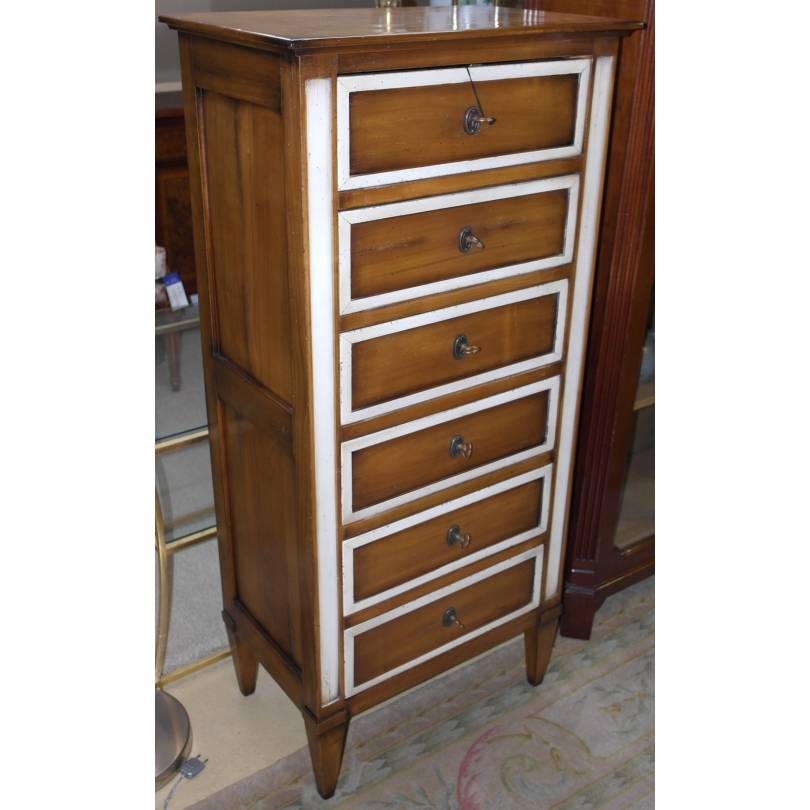 Small wardrobe with 6 drawers style