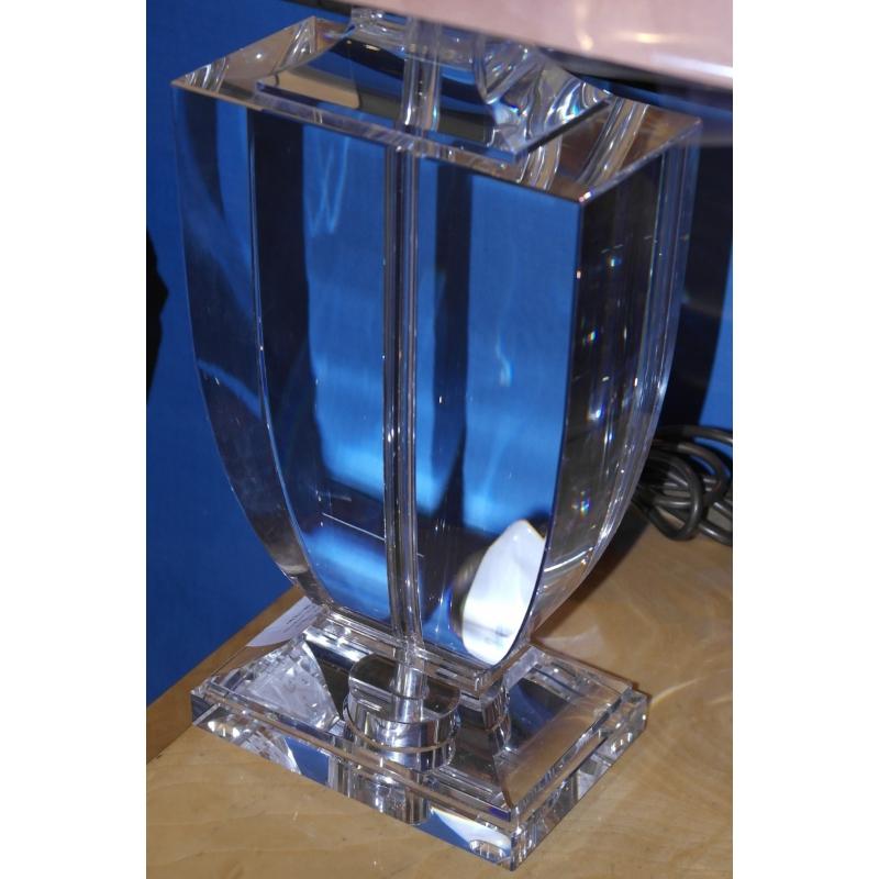 lampe en cristal mod le oblong sur moinat sa antiquit s. Black Bedroom Furniture Sets. Home Design Ideas