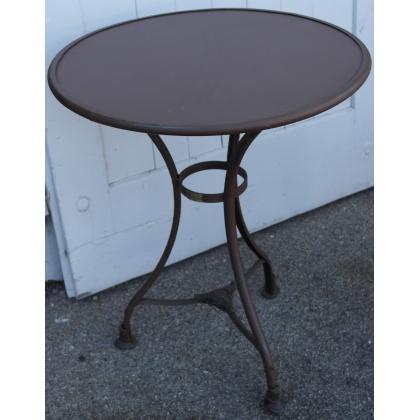 gu ridon en fer forg mod le arras sur moinat sa antiquit s d coration. Black Bedroom Furniture Sets. Home Design Ideas