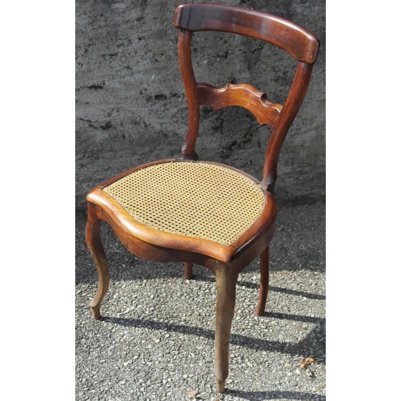 Chaise louis philippe cann e sur moinat sa antiquit s for Chaise 19eme siecle