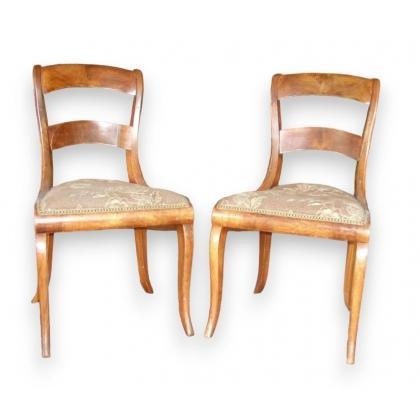S rie de 6 chaises d 39 yverdon sur moinat sa antiquit s for Yverdon meubles zbinden